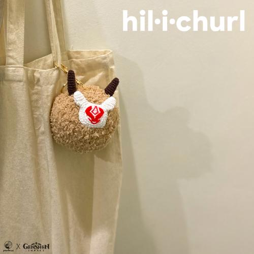 Genshin Impact Keychain Hilichurl Plush